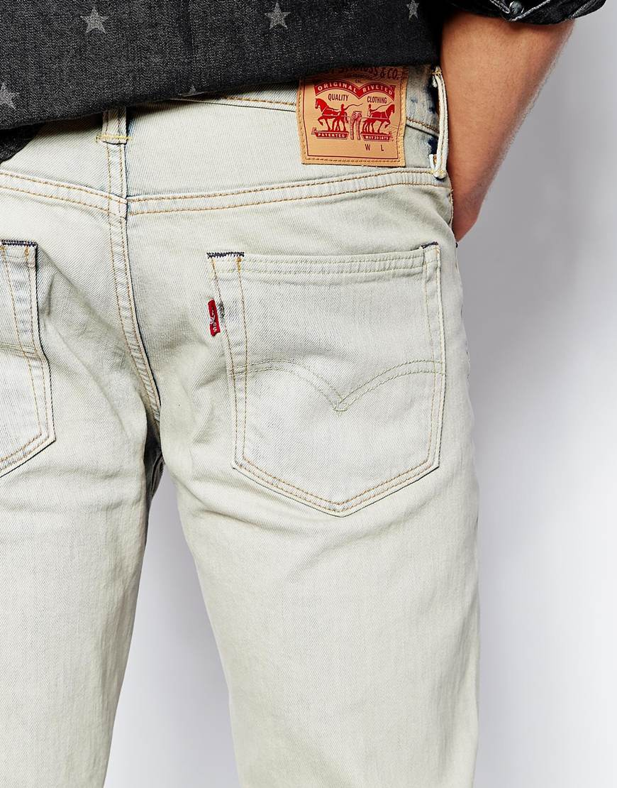 See all results for white levis jeans. Levi's Men's Original-Fit Jean. by Levi's. $ - $ $ 23 $ 79 50 Prime. FREE Shipping on eligible orders. Some sizes/colors are Prime eligible. out of 5 stars 10, Product Description.